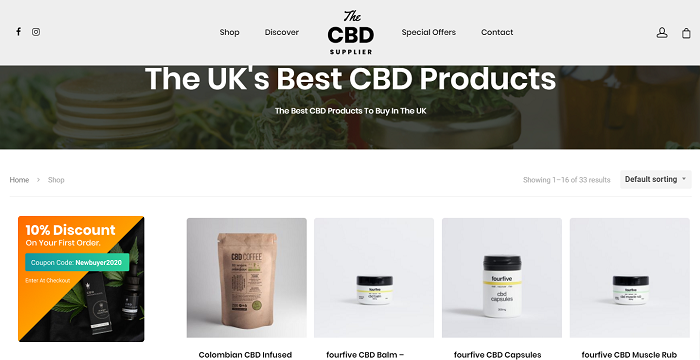 cbd coffee uk