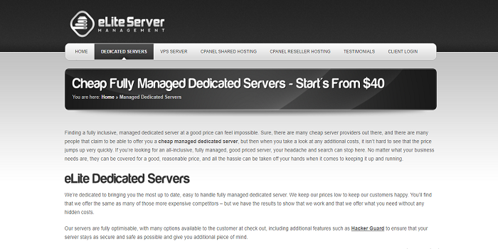 Cheap dedicated servers